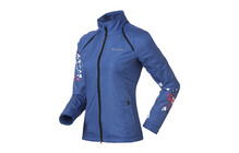 Odlo Ladies Jacket SOURCE dazzling blue/violet pink/white